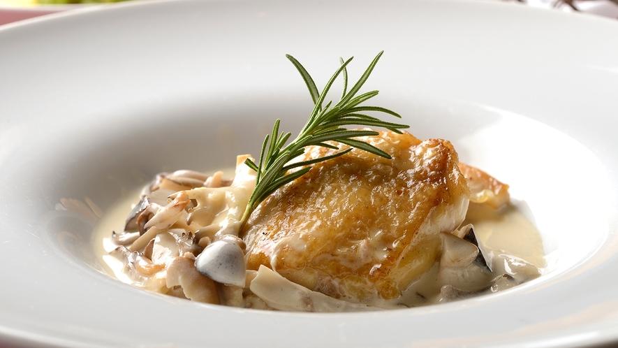 料理体験教室/天城軍鶏のフリカッセ