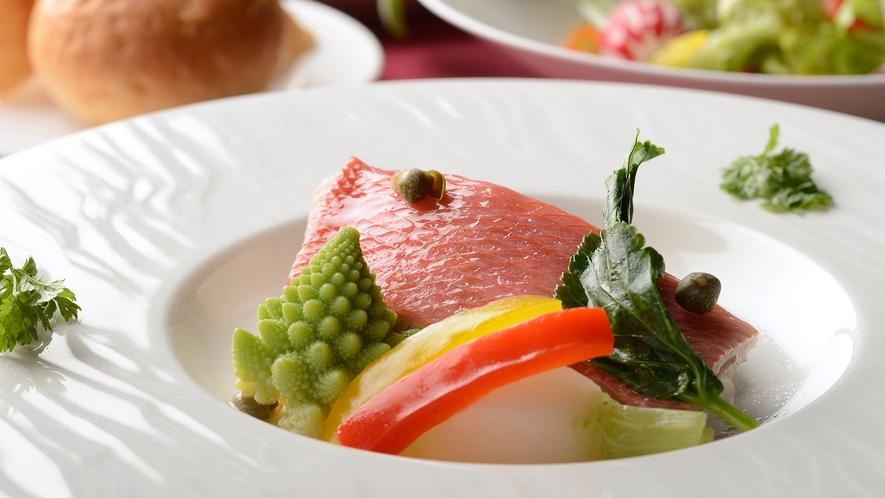 料理体験教室/金目鯛のポシェ