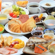 【朝食バイキング】 (一例)
