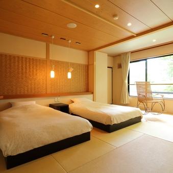 """●特別室【愉楽suite】〜お食事は""""個室食事処""""◇特日専用"""