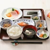 *朝食一例/おかずが豊富♪コシヒカリの炊きたてご飯はおかわり自由!