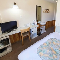*シングルルーム一例/全室WIFI完備・洗浄機能付きトイレ完備で安心