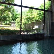 *内風呂一例/とろみのある、源泉かけ流しの天然温泉をお楽しみください。