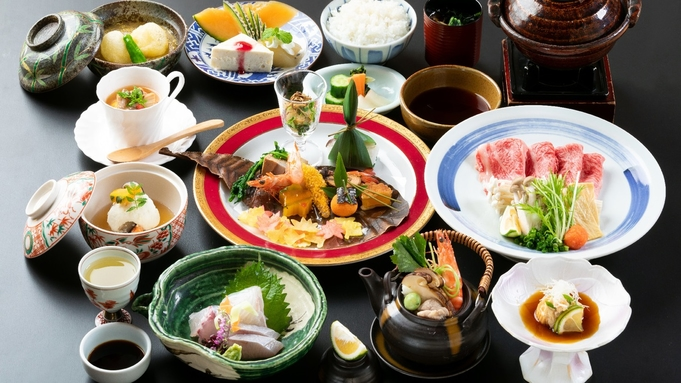 【部屋食】旬を贅沢に味わう 特上おおいた和牛しゃぶしゃぶ堪能プラン
