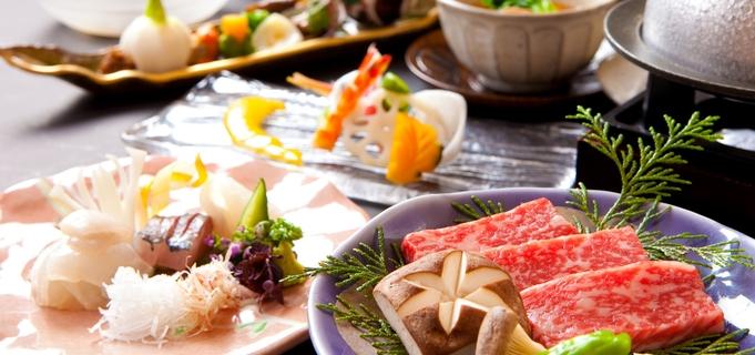 【部屋食】定番人気 口福感は田乃倉で!おおいた和牛陶板焼き懐石プラン