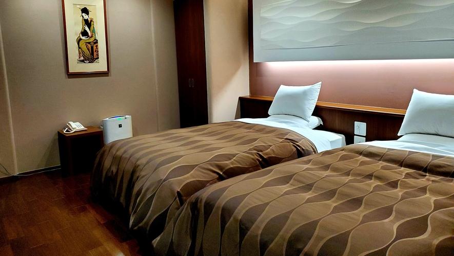 1階 【露天風呂+内湯付き】和洋室 箱庭付き