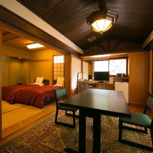 2階 ひのき風呂内湯付き和洋室