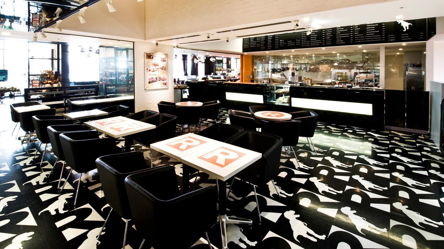 【レックスカフェ】巨大恐竜「REX」をモチーフにデザインされた店内 ※イメージ