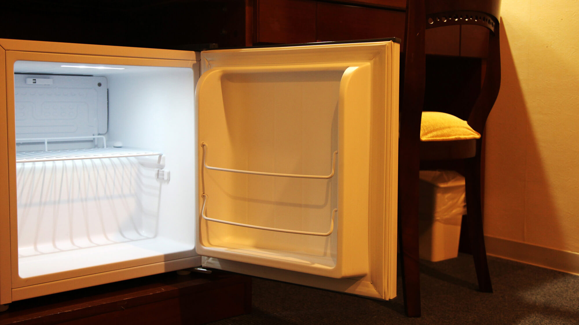 全室冷蔵庫ご用意しております