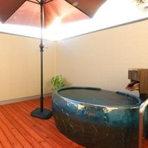 【温泉】特別室の露天風呂