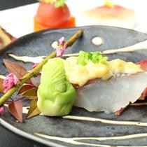 【焼物】鯛のネギ味噌焼き