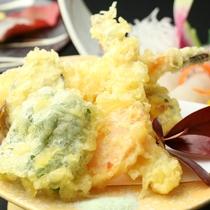 【夕食・揚げ物】季節野菜の天麩羅
