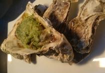 牡蠣のブルゴーニュ風