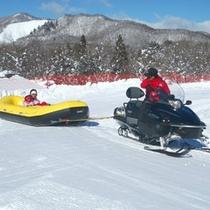 ひるがの高原スキー場 スノーラフティング