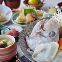 旬の地魚小鍋付きスタンダードプラン(2月~4月)