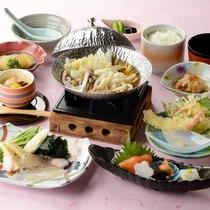 梅鯛のしゃぶ鍋付き・量控えめスタンダード(5月~7月)