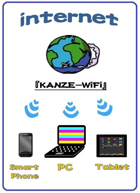 ≪Wi-Fi≫ 接続無料!有線LANもご用意しています。