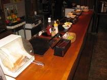 ≪ご朝食≫ 和食中心のヘルシー朝食♪(セルフ形式)
