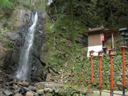 不動滝、滝