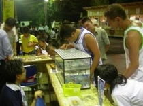 湯河原温泉・夏に3週間開催している納涼縁日(ちびっこ広場f)