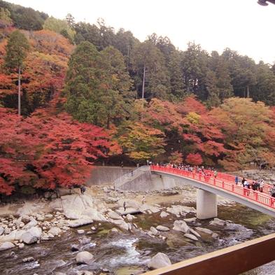 【秋限定】紅葉人気スポット☆香嵐渓の幻想的な『紅葉』&地元ならではの『しし鍋』プラン