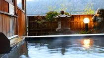 温泉 総檜造りの『貸切露天風呂』