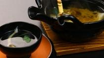 お食事 みなかみ町産舞茸「すくよか」の土瓶蒸し