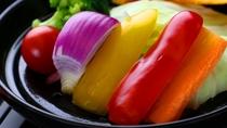 お食事 八種の温野菜