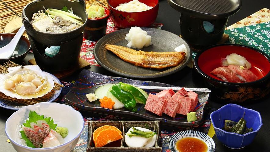 【前沢牛焼肉コース】おっきり一番人気!幸せの脂が滴る極上ステーキ