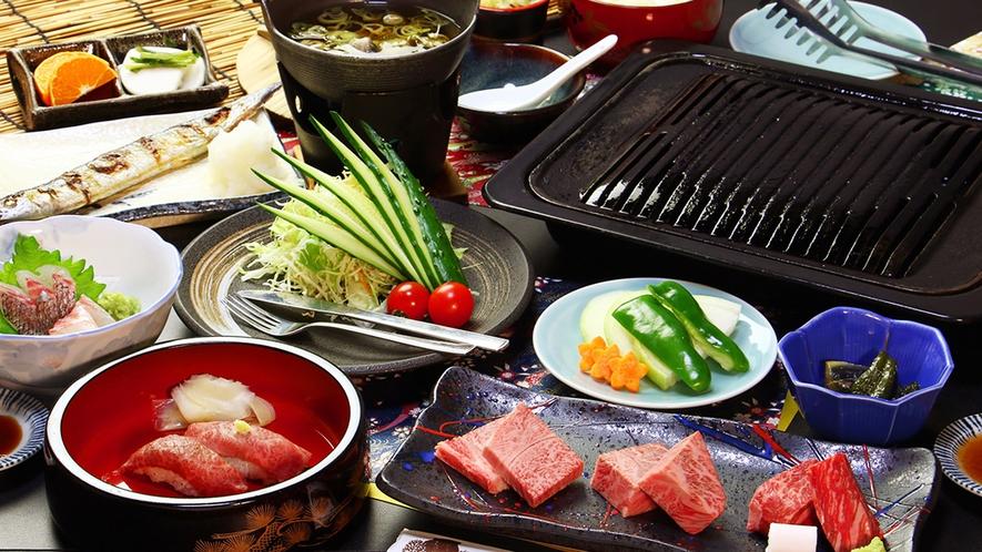 【前沢牛三種食べ比べステーキ】みすじ、リブロース、ランプを食べ比べる贅沢ステーキ