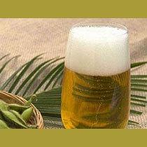 冷たいビールで乾杯