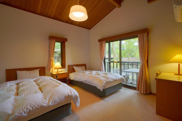 コテージ「スイス村」客室 一例