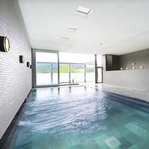 霧生温泉「香楽の湯」 大浴場