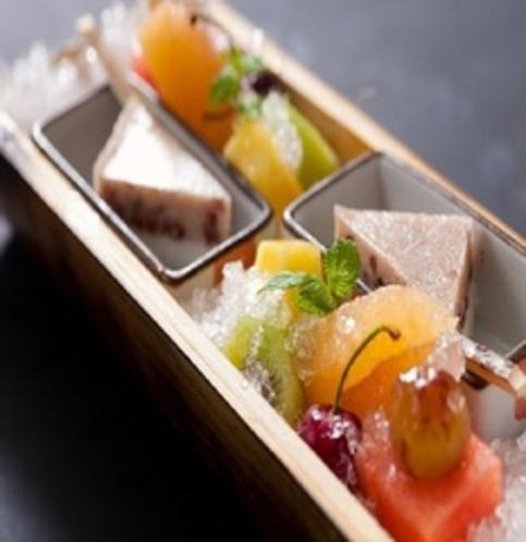 【夕食一例】 夏の懐石