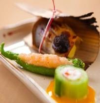 【夕食一例】 秋の懐石