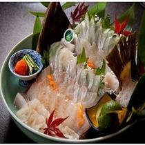 選べる造り:大分新ブランド魚【かぼす平目】