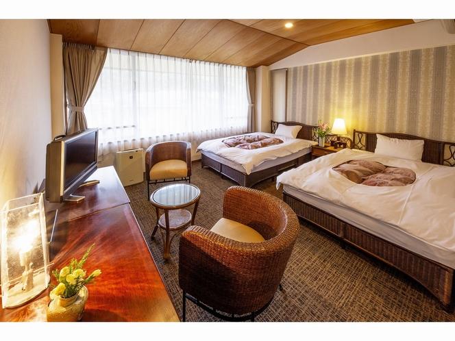 客室 ~山側3階洋室ツインルーム~