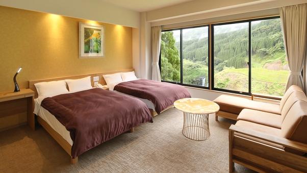 【特別室】客室風呂付◆和洋室◆滝が見えるお部屋