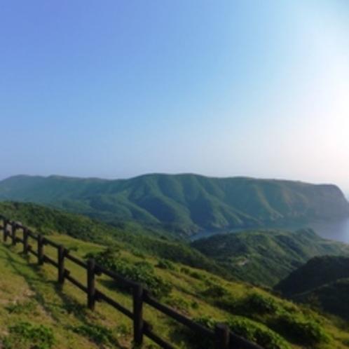 西ノ島の景色です!天気がいいと気持ちいいですよ!