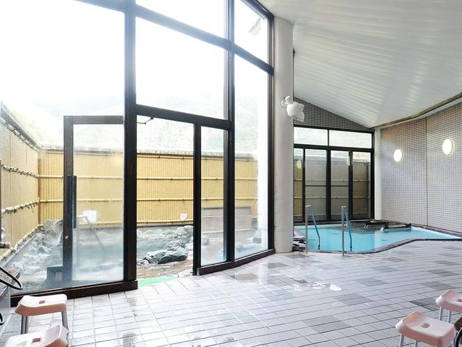 【女性内風呂】中国地方随一のラジウム温泉です。