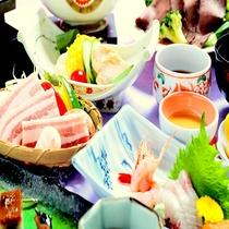 夏を食す 涼味和風会席  (イメージ写真)