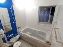 【バリアフリースイートルーム】 ゆったりサイズのバスルーム