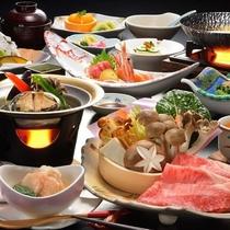 地場の野菜を使った当館おすすめの和食膳(イメージ)