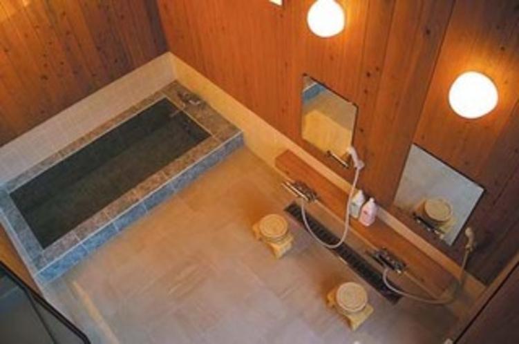 露天付貸切風呂「川天の湯」(内湯)
