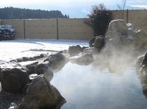 冬の露天風呂②
