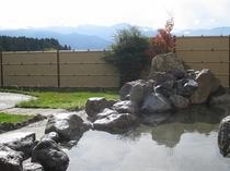 秋の露天風呂①