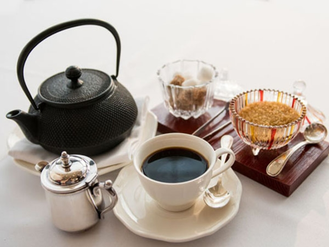 ホテルリマーニの珈琲は、「ハワイアンコナコーヒー」です。