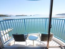 全室テラス付・日本のエーゲ海牛窓の海が一望できます♪