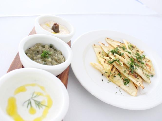 新鮮な食材をふんだんに使用したお料理の数々。