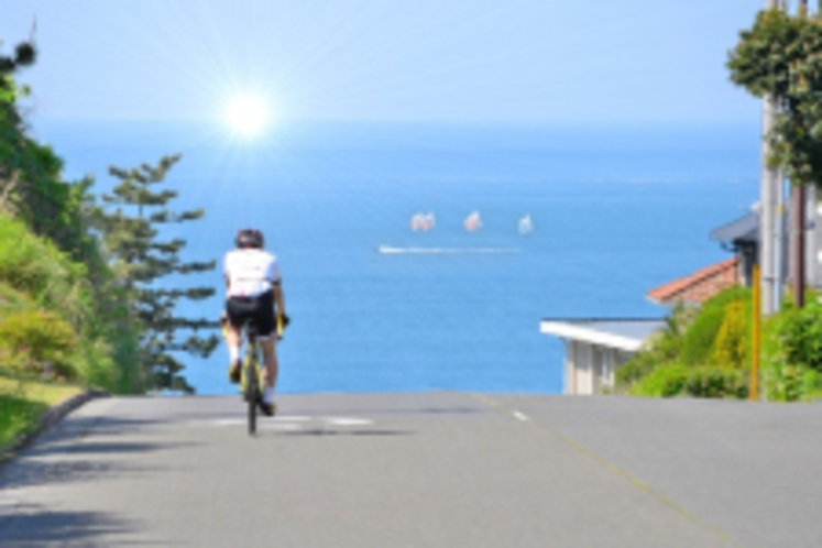 自転車で牛窓散策♪